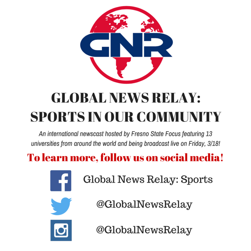 GLOBAL NEWS RELAY-SPORTS IN OUR COMMUNITY